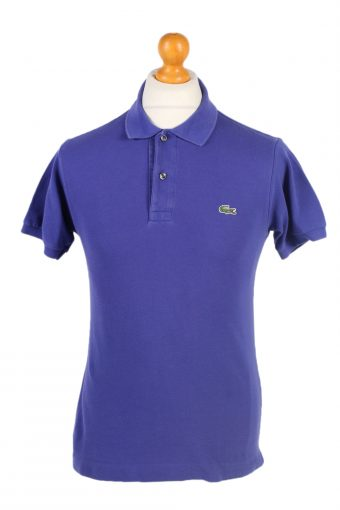 Lacoste Polo Shirt 90s Retro Purple S