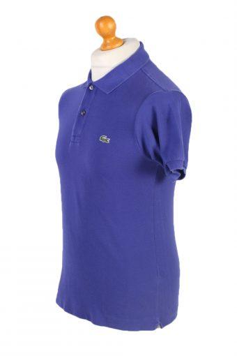 Vintage Lacoste Polo Shirt Short Sleeve Tops S Purple -PT1152-94717