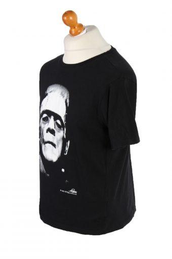 Vintage Hollywood Short Sleeve Shirt M Black TS212-92027
