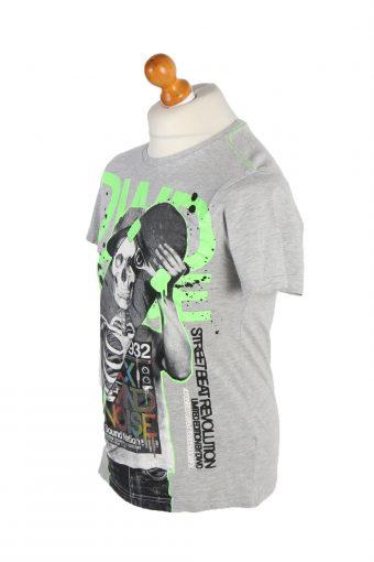 Vintage C&A Short Sleeve Shirt M Multi TS225-92043