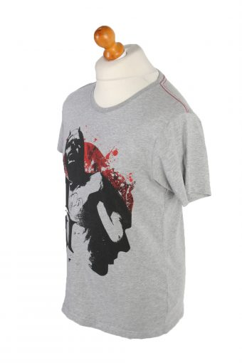 Vintage Marvel Short Sleeve Shirt L Gray TS232-92055