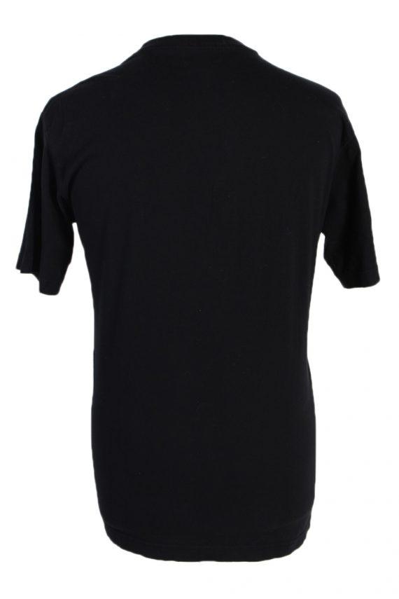Vintage Atlas Remake Lion Printed Safari T-Shirt L Black TS241-91907