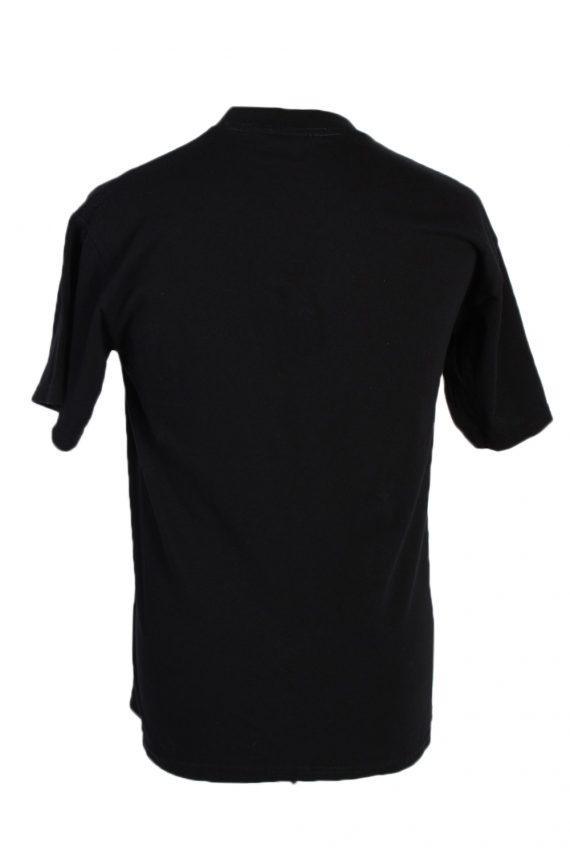 Vintage Gildan Remake Lion Tiger Printed T-Shirt M Black TS249-91939