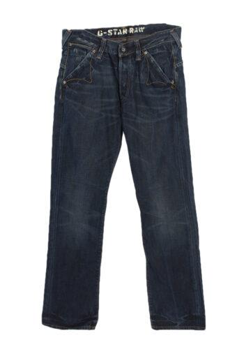 G-Star Raw Mid Waist Straight Leg Jeans Faded 90's W31 L33