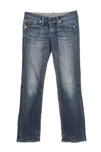 G-Star Raw Low Waist Skinny Jeans Stone Washed 90's W28 L30