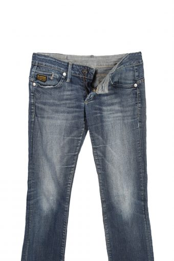 Vintage G-Star Raw Low Waist Skinny Jeans W28 L30 Blue J4013-95803