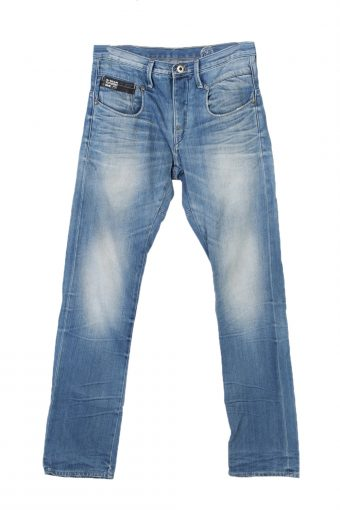 G-Star Raw 3301 Slim High Waist Jeans Stone Washed 30 in