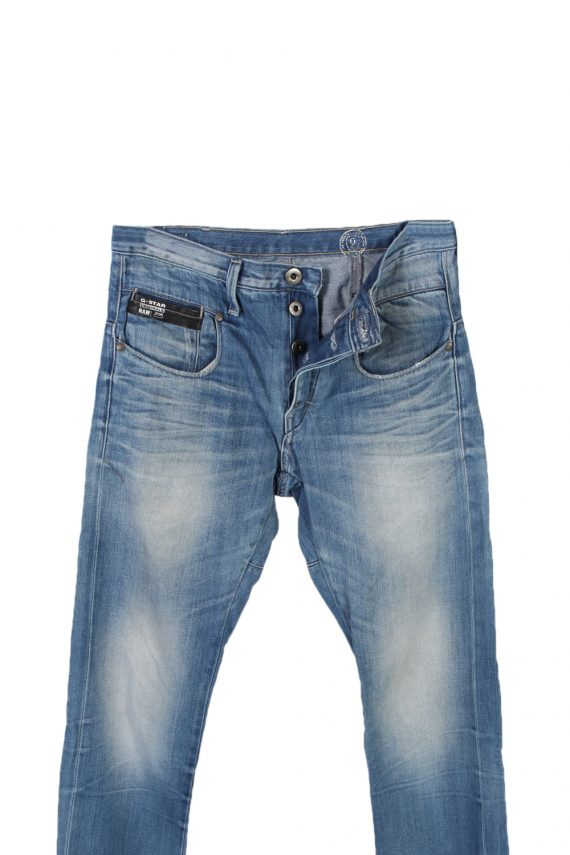 Vintage G-Star Raw 3301 Slim High Waist Jeans 30 in. Blue J4029-96986
