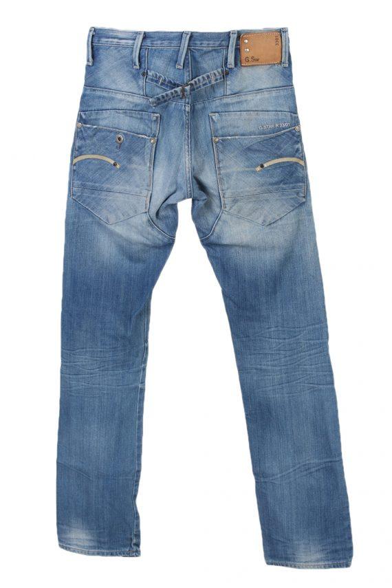 Vintage G-Star Raw 3301 Slim High Waist Jeans 30 in. Blue J4029-96987