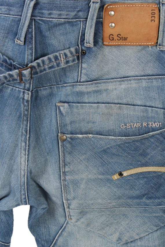 Vintage G-Star Raw 3301 Slim High Waist Jeans 30 in. Blue J4029-96988