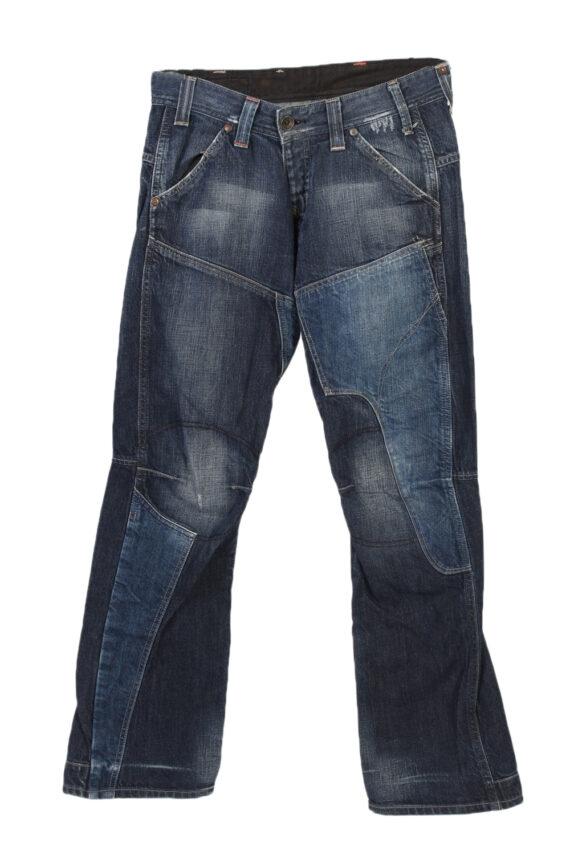 Vintage G-Star Raw Trash Low Com Stright Leg Jeans 29 in. Navy J4030-0
