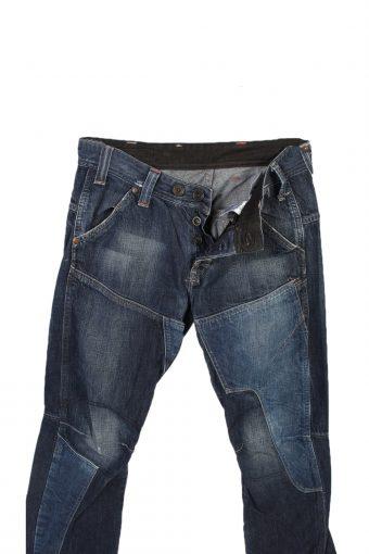 Vintage G-Star Raw Trash Low Com Stright Leg Jeans 29 in. Navy J4030-96990
