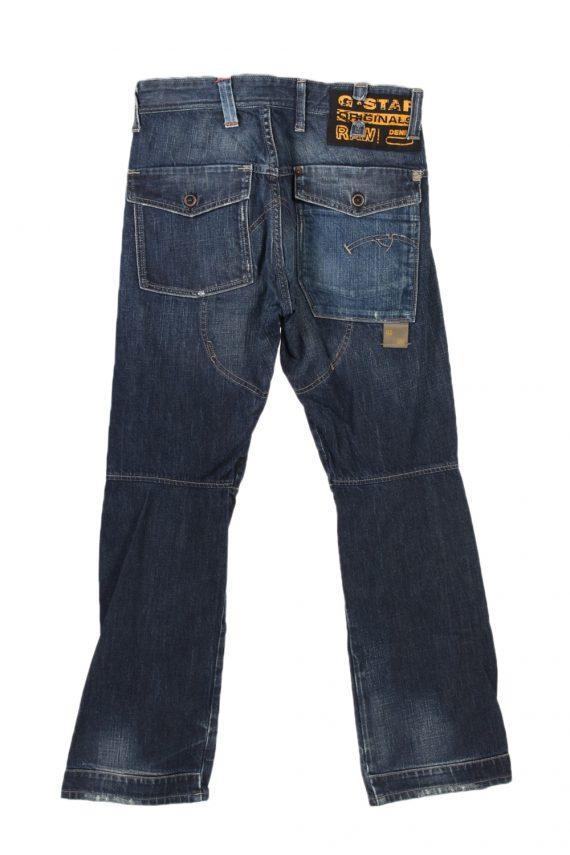 Vintage G-Star Raw Trash Low Com Stright Leg Jeans 29 in. Navy J4030-96991