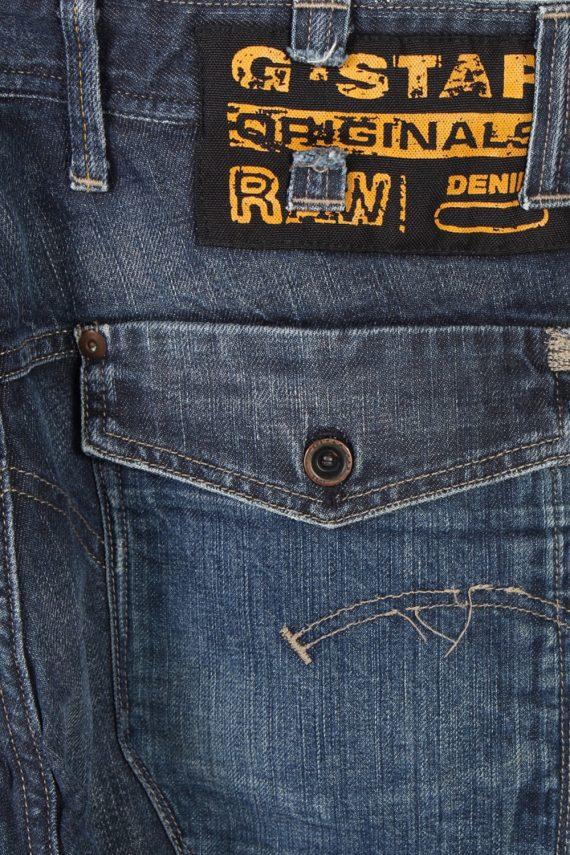 Vintage G-Star Raw Trash Low Com Stright Leg Jeans 29 in. Navy J4030-96992