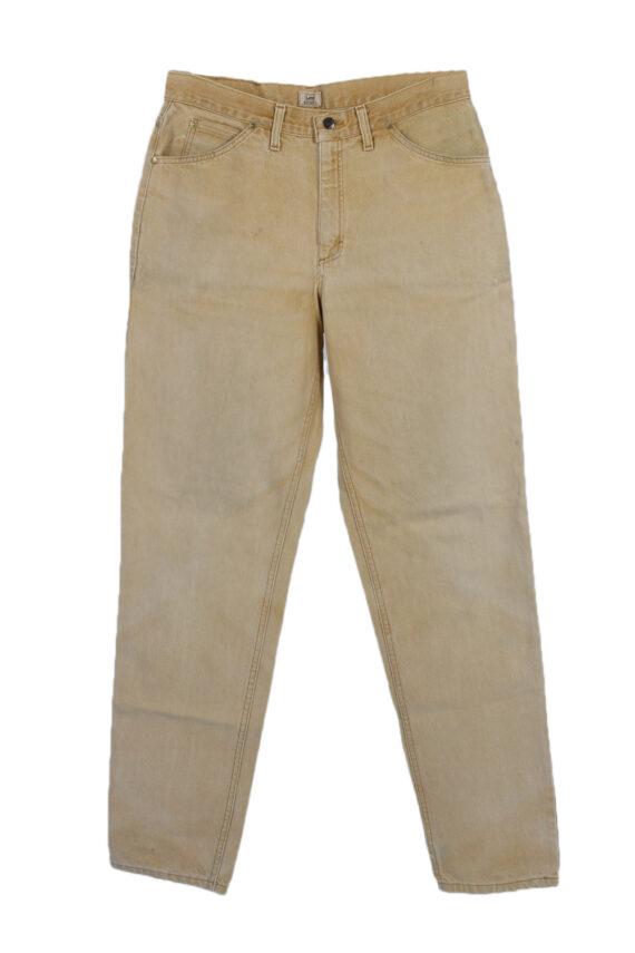 Vintage Lee Riders Straight Leg High Waist Jeans 33 in. Mustard J4039-0