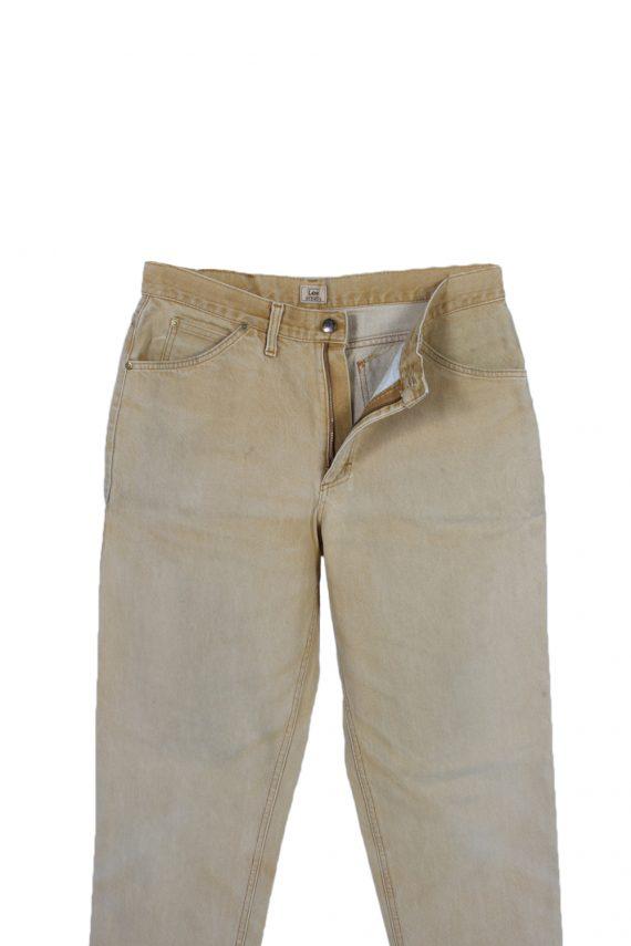Vintage Lee Riders Straight Leg High Waist Jeans 33 in. Mustard J4039-97230