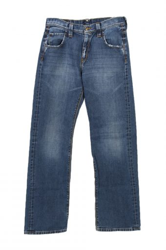 Lee Marshall Straight Leg High Waist Jeans Casual 29 in