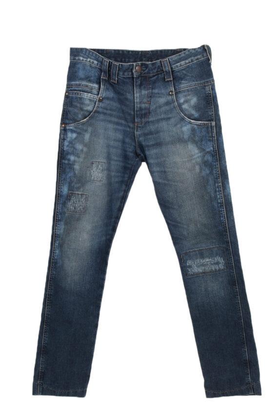 Vintage Wrangler High Waist Jeans Billie Straight Leg 30 in. Blue J4056-0