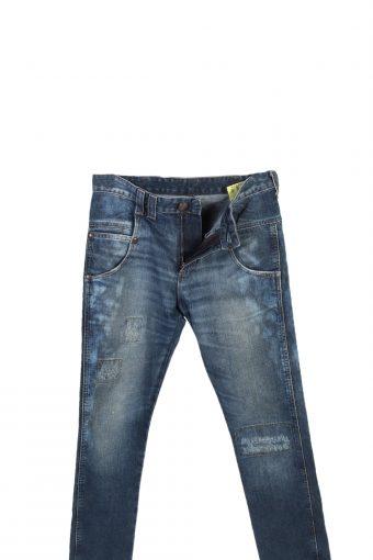 Vintage Wrangler High Waist Jeans Billie Straight Leg 30 in. Blue J4056-97594