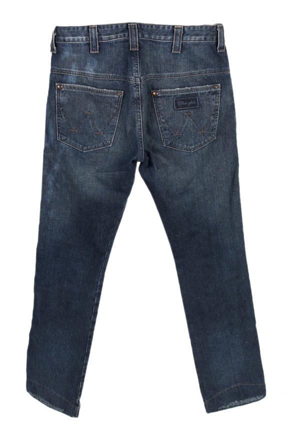 Vintage Wrangler High Waist Jeans Billie Straight Leg 30 in. Blue J4056-97595