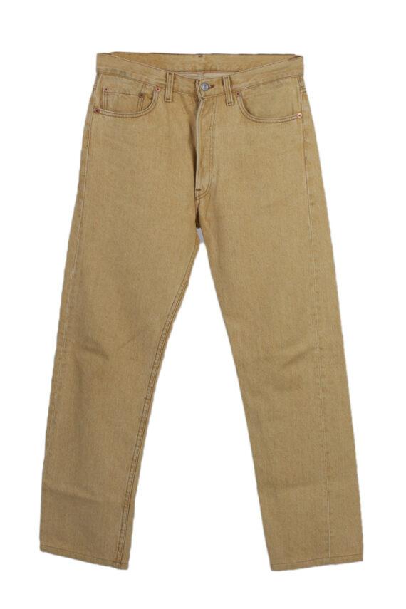 Vintage Levis High Waist Jeans Red Label Straight Leg 32 in. Mustard J4065-0