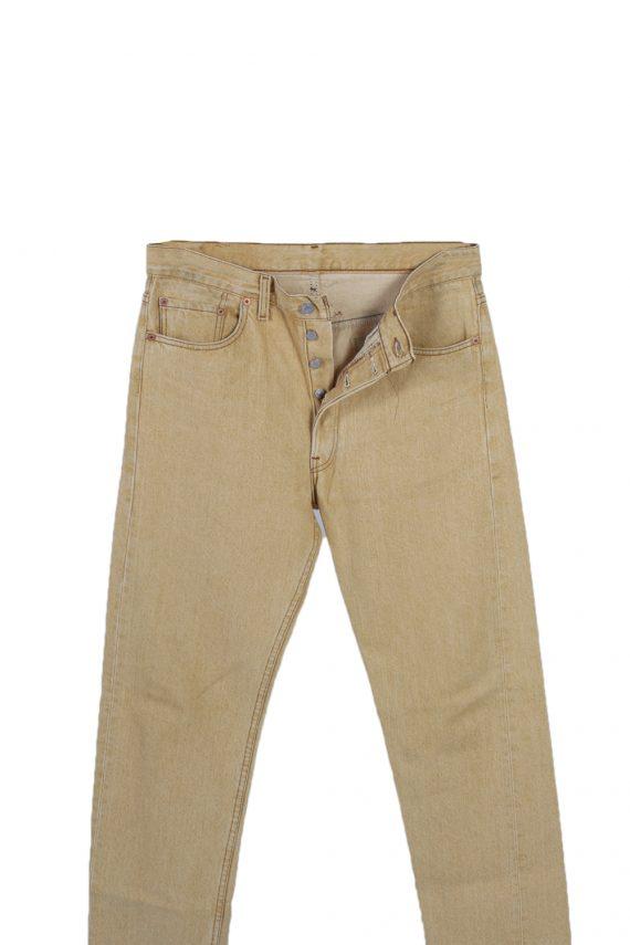 Vintage Levis High Waist Jeans Red Label Straight Leg 32 in. Mustard J4065-97630