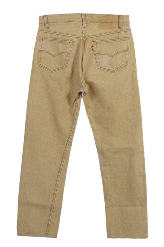 Vintage Levis High Waist Jeans Red Label Straight Leg 32 in. Mustard J4065-97631
