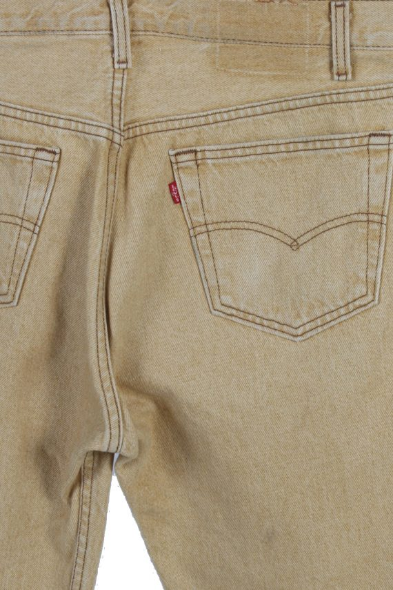 Vintage Levis High Waist Jeans Red Label Straight Leg 32 in. Mustard J4065-97632