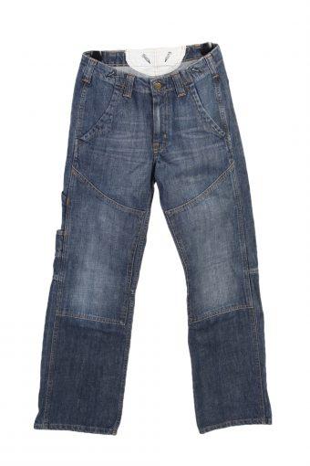 Lee Baker Cargo Denim Jeans Boys W26 L27