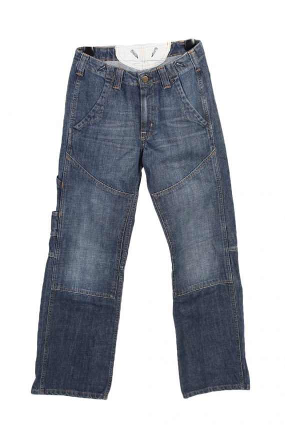 Vintage Lee Mid Waist Jeans Baker Straight Leg 28 in. Blue J4078-0