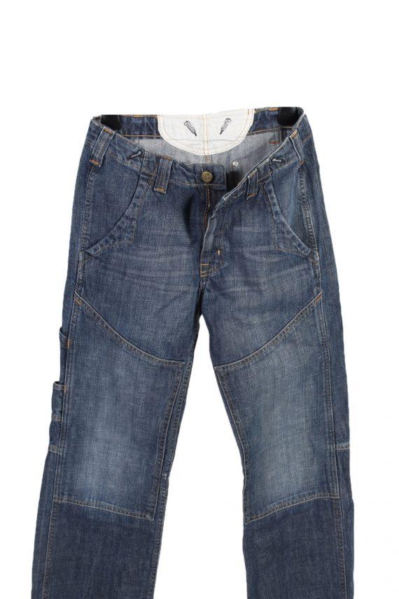 Vintage Lee Mid Waist Jeans Baker Straight Leg 28 in. Blue J4078-98162