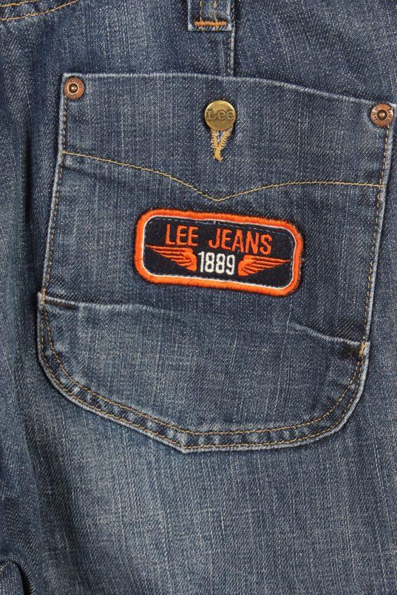 Vintage Lee Mid Waist Jeans Baker Straight Leg 28 in. Blue J4078-98164