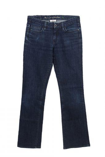 Levi's 553 Denim Jeans MidRise Boot Women W27 L33