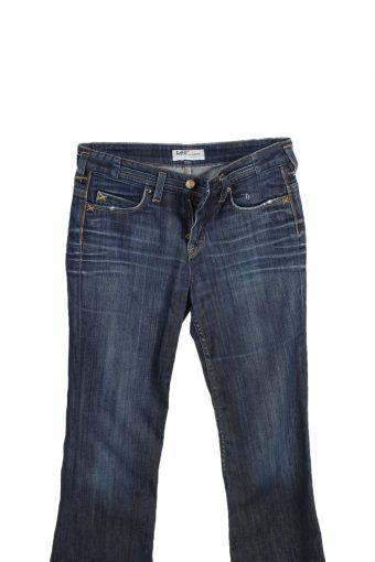 Vintage Lee Mid Waist Jeans Rice Flare 28 in. Blue J4090-98210