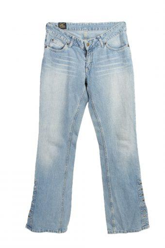 Lee Flare Denim Jeans String Leg Women W30 L33