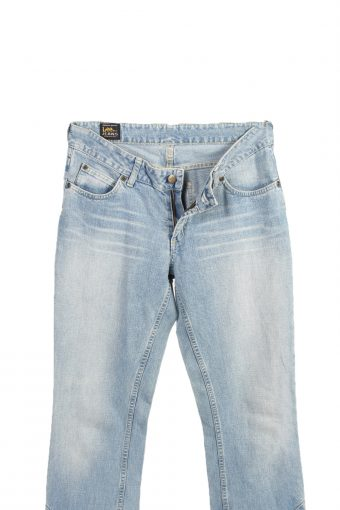 Vintage Lee Low Waist Jeans String Leg 30 in. Ice Blue J4092-98218