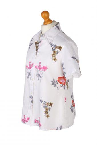 Vintage Carrel Shirt Short Sleeve M White LB236-96764