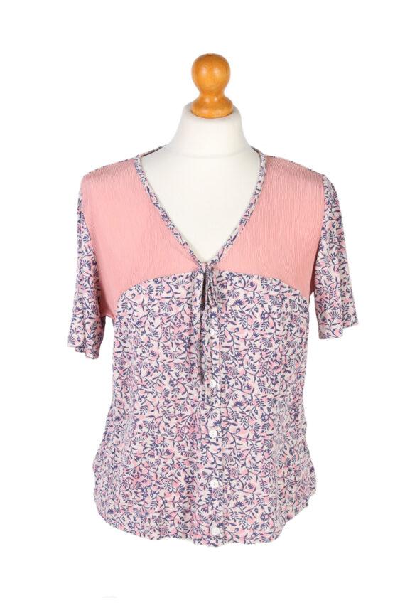 Vintage Cherie Blouses Short Sleeve S Multi LB246-0