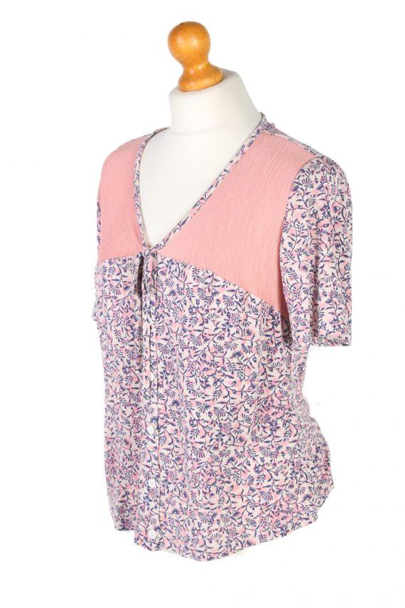Vintage Cherie Blouses Short Sleeve S Multi LB246-96804