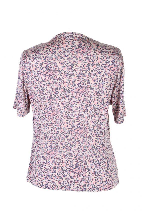 Vintage Cherie Blouses Short Sleeve S Multi LB246-96805