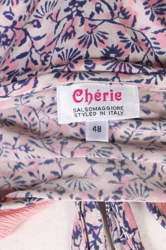 Vintage Cherie Blouses Short Sleeve S Multi LB246-96806