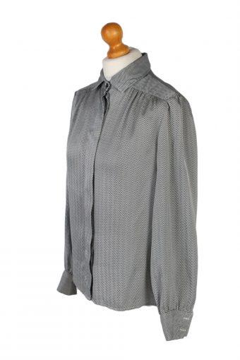 Vintage Tricos Shirt Long Sleeve M Grey LB254-96866
