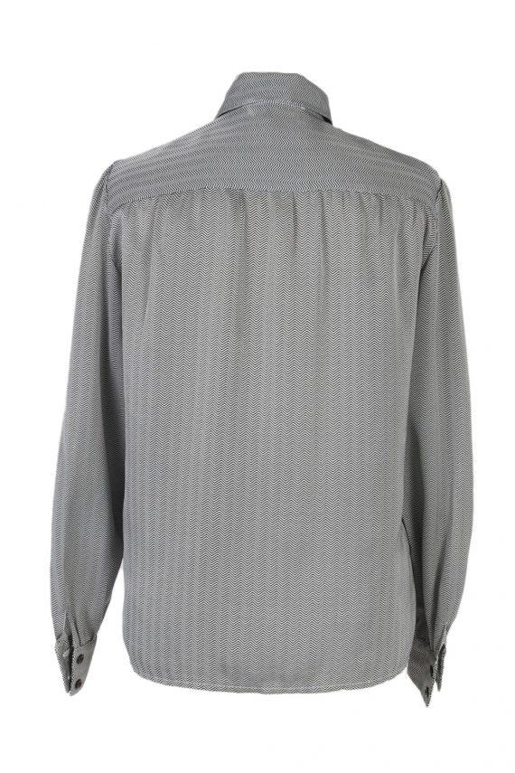 Vintage Tricos Shirt Long Sleeve M Grey LB254-96867