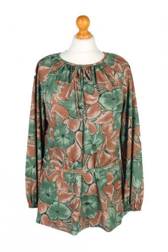 Women 90s Shirt Blouses Long Sleeve S