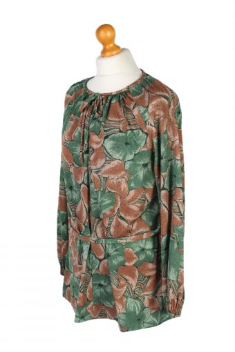 Vintage Lady Blouses Long Sleeve M Multi LB261-96890