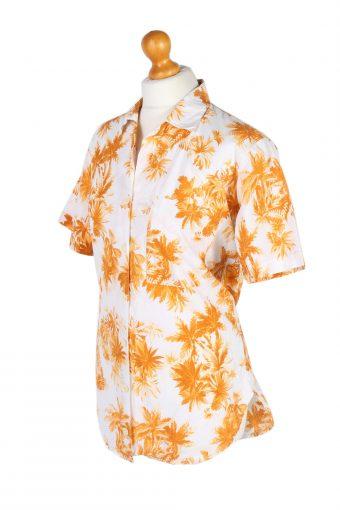 Vintage Lady Blouses Shirt Short Sleeve L Multi LB264-96902