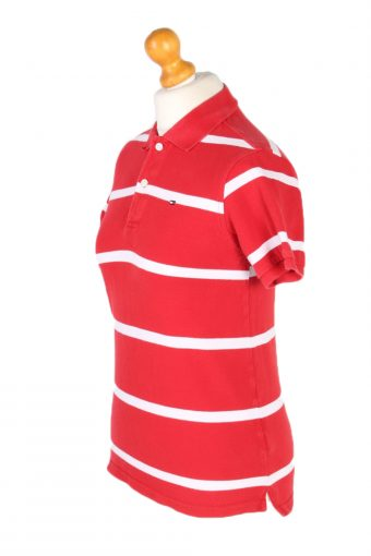 Vintage Tommy Hilfiger Polo Shirt Short Sleeve Tops S Red -PT1170-95988