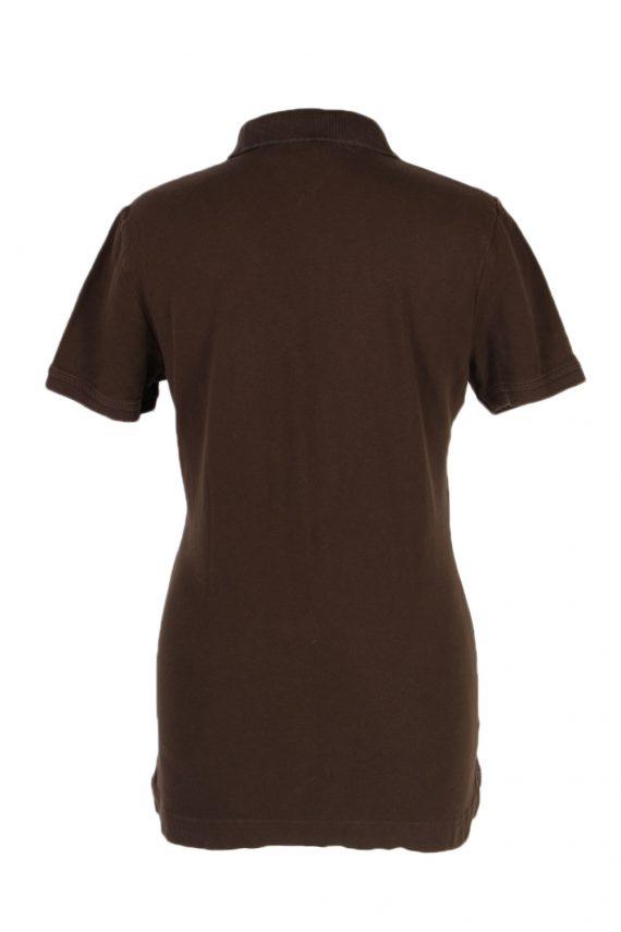 Vintage Tommy Hilfiger Polo Shirt Short Sleeve Tops M Brown -PT1180-96029