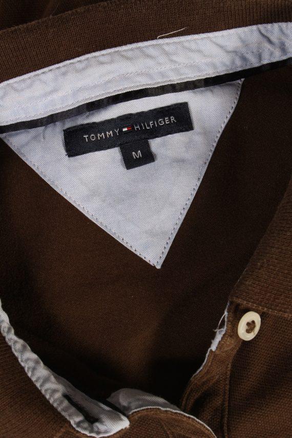Vintage Tommy Hilfiger Polo Shirt Short Sleeve Tops M Brown -PT1180-96030