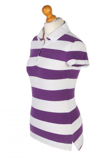 Vintage Tommy Hilfiger Polo Shirt Short Sleeve Tops M Multi -PT1181-96032